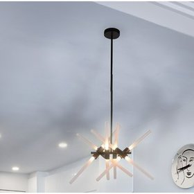 Bushey 12-Light Sputnik Chandelier
