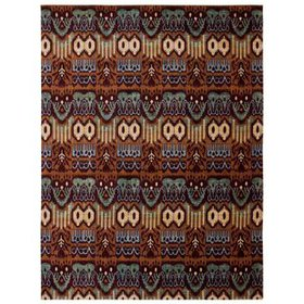 Moroccan Brown Area Rug