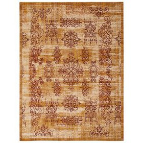 Moroccan Amber Area Rug
