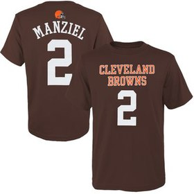Johnny Manziel Cleveland Browns Historic Logo Yout