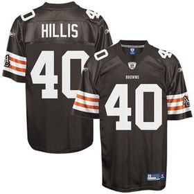 Reebok Peyton Hillis Cleveland Browns Historic Log