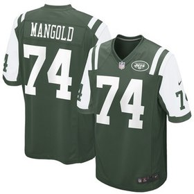 Nick Mangold New York Jets Nike Youth Team Color G
