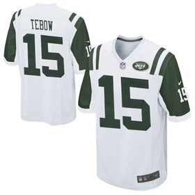 Nike Youth New York Jets Tim Tebow White Game Jers