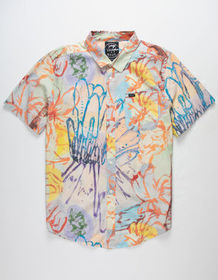 RVCA Vaughn Floral Mens Shirt_