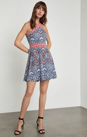 BCBG Nadia Blossoms Print Dress