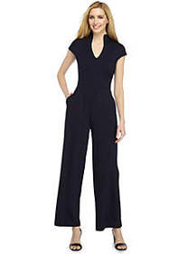 The Limited Scarlett Military Neck Jumpsuit