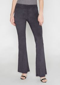 Tall Elana Stretch Suede Pants