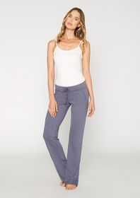 French Terry Boyfriend Pants