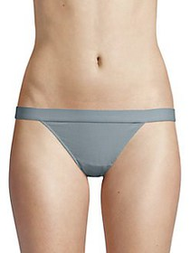French Connection Ribbed Bikini SUMMER BLUE