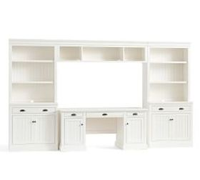 Pottery Barn Aubrey Large Office Suite with Bridge