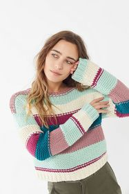 UO Day Dreamer Striped Pullover Sweater