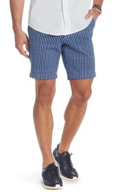 Slate & Stone French Terry Striped Shorts