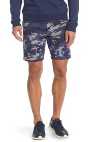 Slate & Stone French Terry Camo Printed Shorts