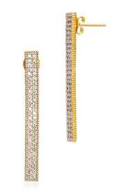 Freida Rothman 14K Yellow Gold Plated Sterling Sil