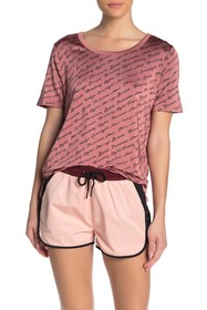 Scotch & Soda Mercerized Text Relaxed Fit Tee