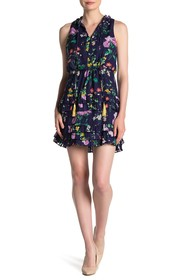 Laundry By Shelli Segal Floral Tiered Dress