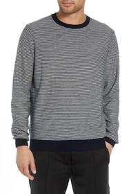Vince Striped Wool & Cashmere Sweater