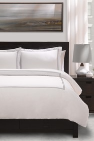 Ella Jayne Home Stone Cotton Percale Full/Queen 3-
