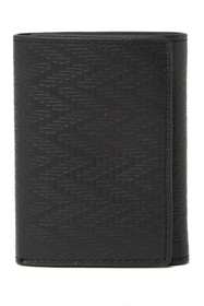 Tommy Bahama Embossed Trifold Leather Wallet
