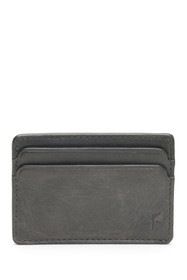 Frye Oliver Leather ID Card Case