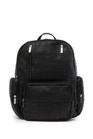 DAVID KING & CO Leather Laptop Backpack