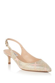 L.K. Bennett Ava Embroidered Leather Pump