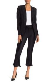 BCBGeneration Solid Corded Flare Leg Pants