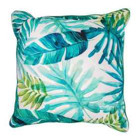Made in India 20PF Digi Tropical Leaves Blue Indoo