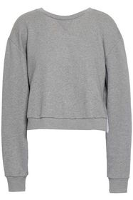 3.1 PHILLIP LIM Cropped French cotton-terry and ru