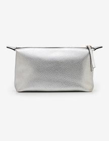 Boden Small Leather Washbag