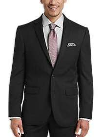 JOE Joseph Abboud Black Modern Fit Suit