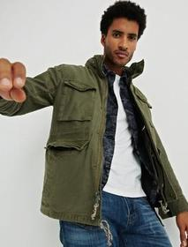 Lucky Brand M65 Field Jacket With Removeable Sherp