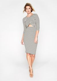 Dacri Cut Out Midi Dress