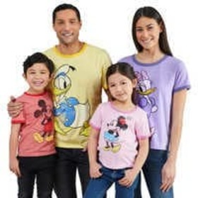 Disney Mickey Mouse and Friends Ringer T-Shirt Col