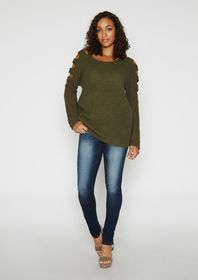 Serena Latter Crew Sweater