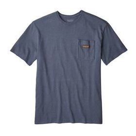 M's Work Pocket Tee Shirt, Dolomite Blue (DLMB)