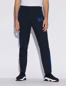 Armani SPORTY TROUSERS WITH CONTRAST DETAILS