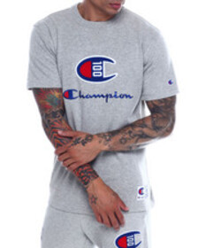 Champion century chenille patch ss tee