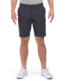 BEN SHERMAN Seersucker Striped Shorts