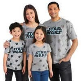 Disney Star Wars T-Shirt Collection for Family
