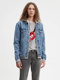 Levi's Relaxed Hoodie Trucker Jacket