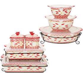 """""""As Is"""" Temp-tations Old World 16-Piece Bakeware S"""