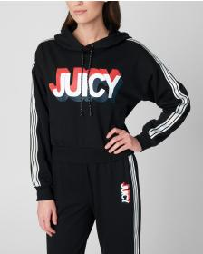 Juicy Couture JXJC 3D Juicy Terry Hooded Pullover