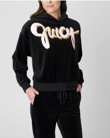 Juicy Couture Script Juicy Velour Pullover