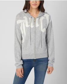 Juicy Couture Scattered Juicy Cashmere Zip Jacket