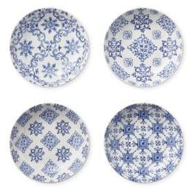 Porto Mixed Patterned Dipping Bowls, Set of 4