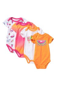 Juicy Couture Short Sleeve Bodysuits - Set of 4 (B