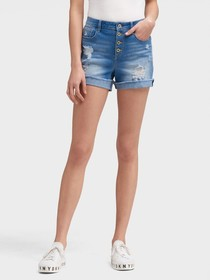 Donna Karan THE BUTTON-FLY SHORT
