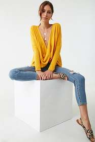 Forever21 Twist-Front Top