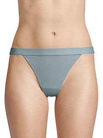 French Connection Ribbed Thong SUMMER GREY